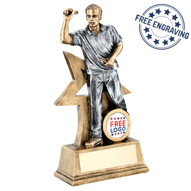 Male Darts Trophies