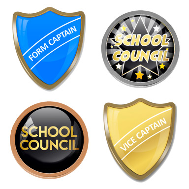 School Captain & Council Badges
