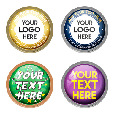 Personalised Round Badges