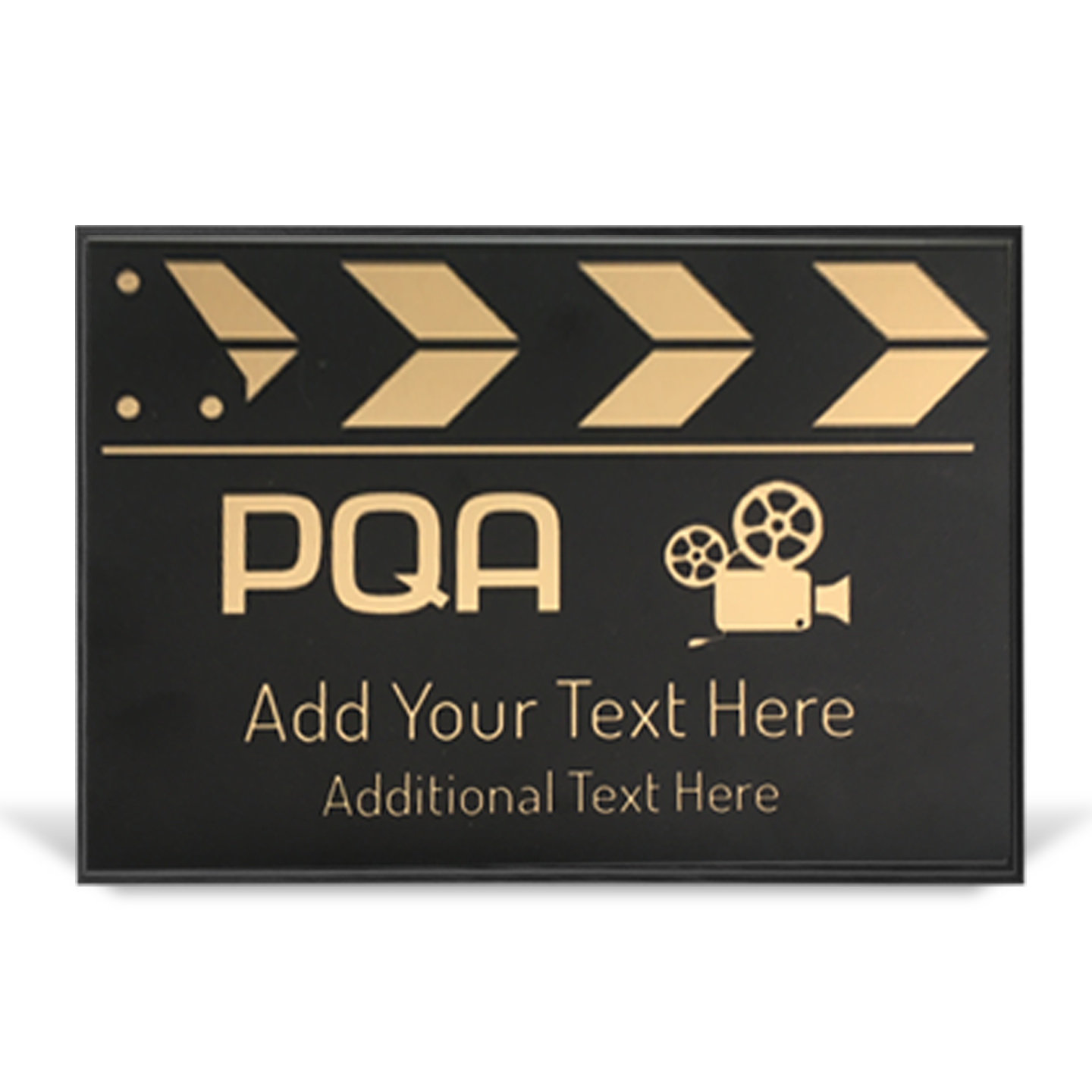 PQA Clapperboards