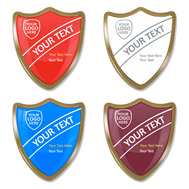 Personalised Shield Badges