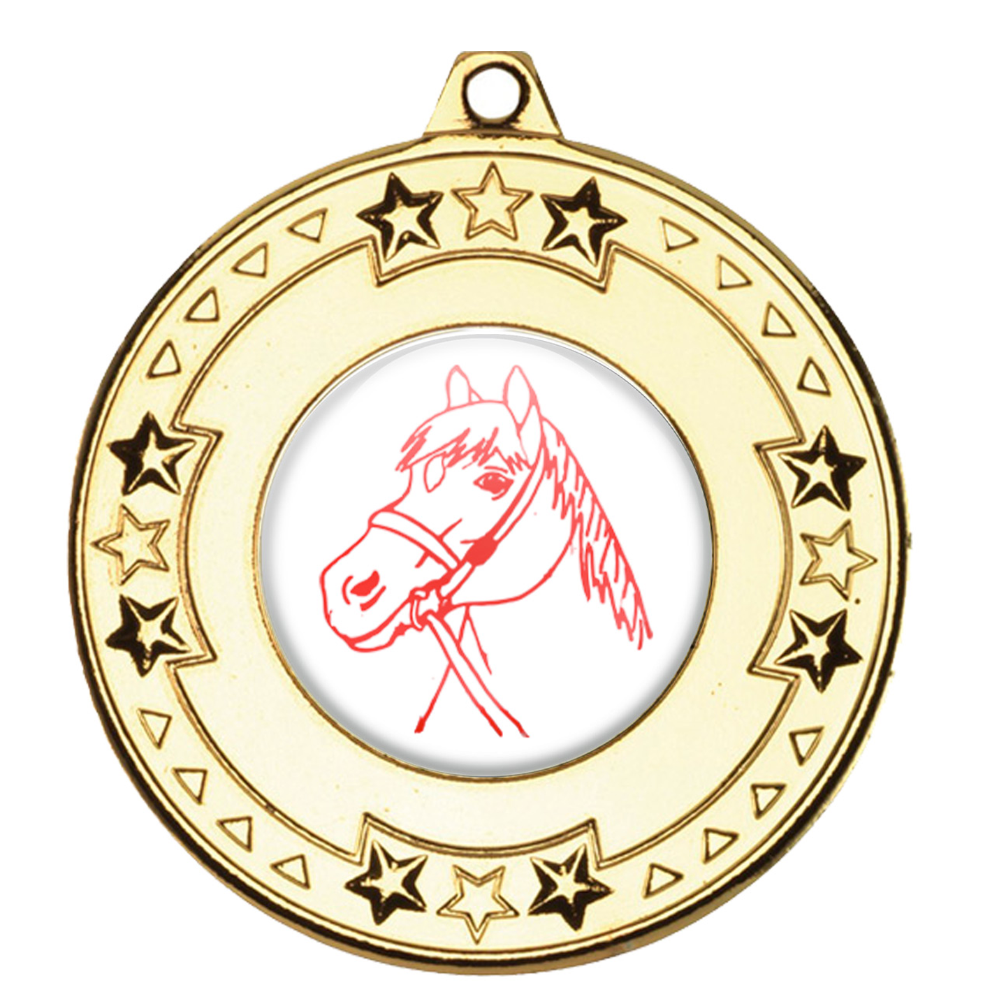 Horse Riding Medals & Ribbons