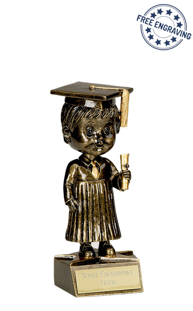 Bobblehead Male Graduation Award - A1162