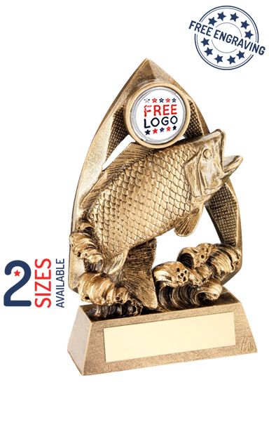 Fishing Diamond Collection Resin Trophy- RF679