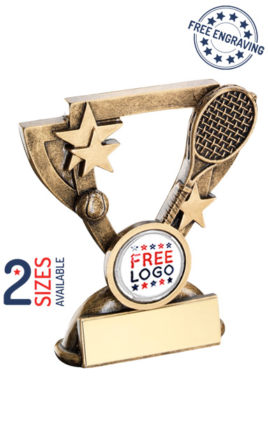 TENNIS STARS CUP - RESIN TROPHY - RF841