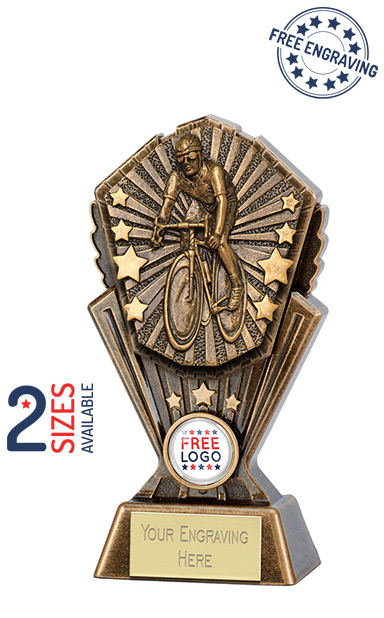Cosmos Cycling Resin Trophy - PK158