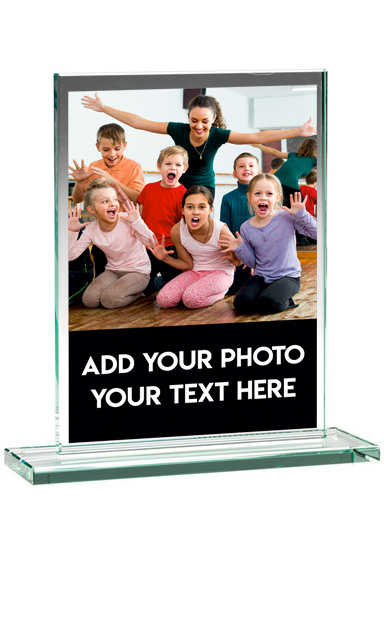 PHOTO GLASS PLAQUE (16.5cm)- ND