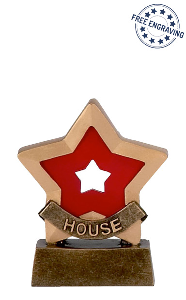 Mini Star - Red House Trophy - A951A