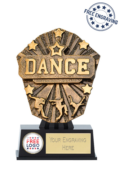 Cosmos Mini Dance Resin Trophy - PK215