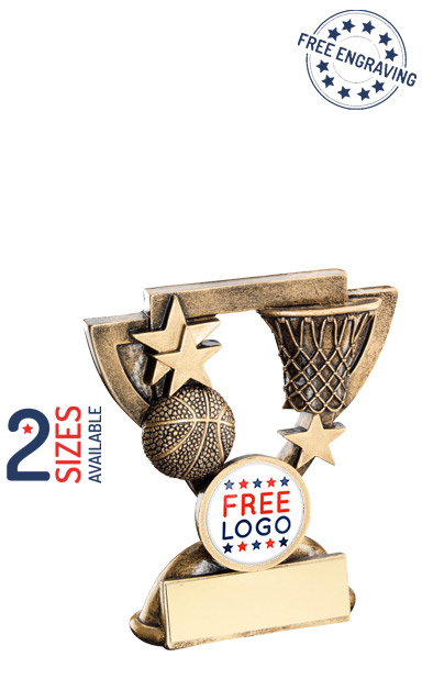 Basketball Mini Cup Resin Trophy- RF843