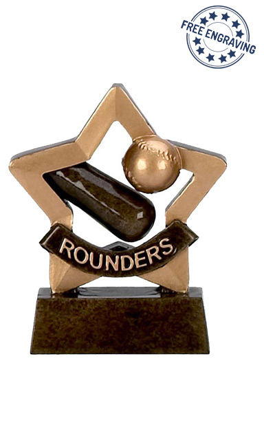 Mini Star - Rounders Trophy - A976