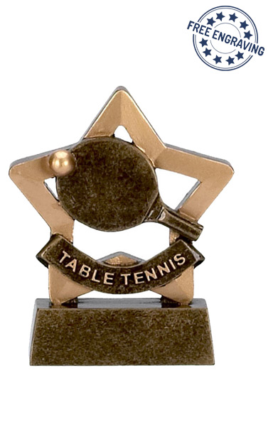 Mini Star - Table Tennis Trophy - A966