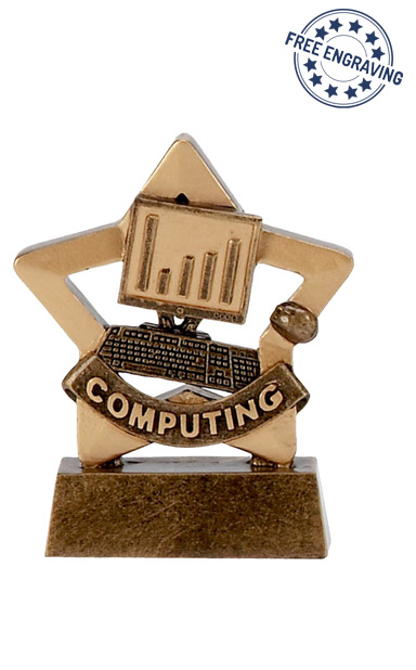 Mini Star - Computing Trophy - A1121