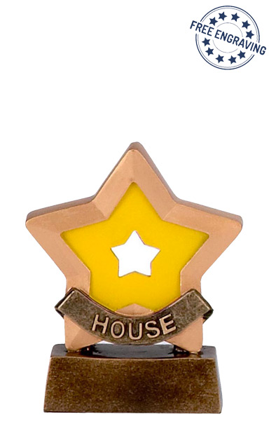 Mini Star - Yellow House Trophy - A951D