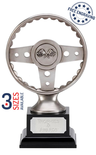 Emblem Steering Wheel Award- A1076