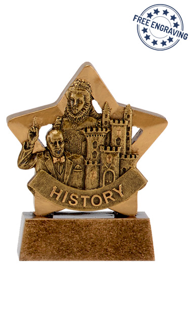 Mini Star - History Trophy - A1668