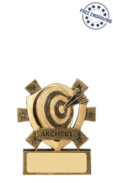 Mini Shield Archery Trophy - RM567
