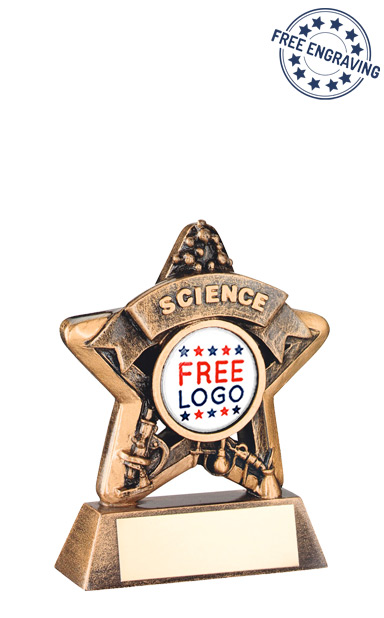 School Science Mini Star Resin Award- RF403