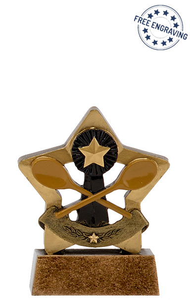 Mini Star - Wooden Spoon Trophy - A1638A