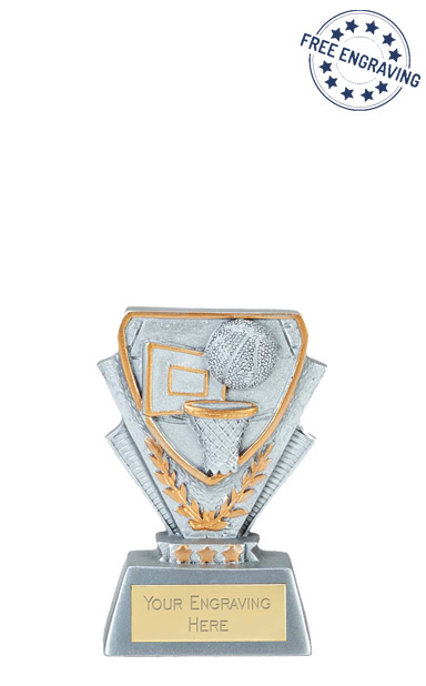 Mini Cup Basketball Resin Trophy - A4113