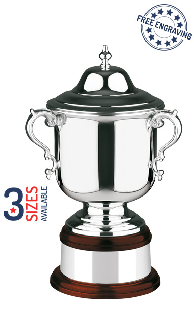 Silver Plated The League Champions Cup- Plain - L460