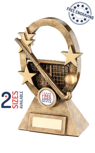 Oval Stars Series Hockey Resin Trophy- RF741