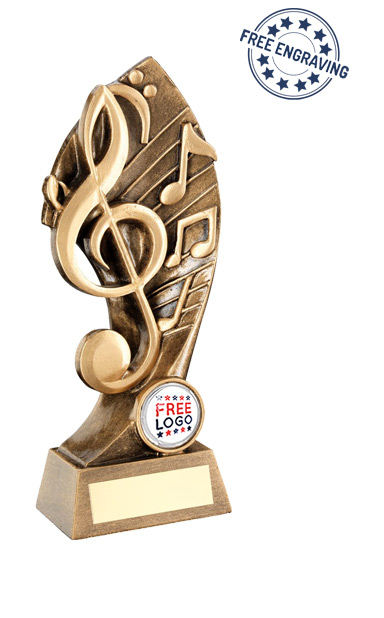 MUSIC AWARD - Music with Twisted Backdrop - RF758