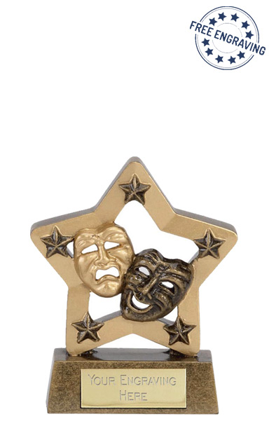 Economy Star Drama Resin Award- N02023A/G