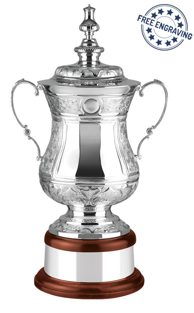 Silver Plated The Masters Challenge Trophy- Hand Chased - L566