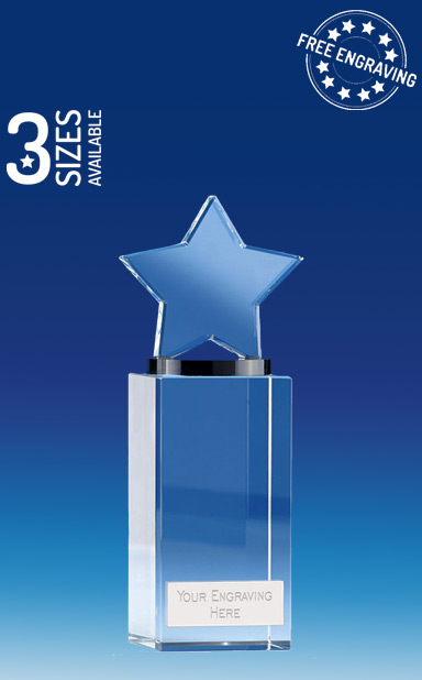 ETERNITY STAR GLASS AWARD - Presentation Box - KK275