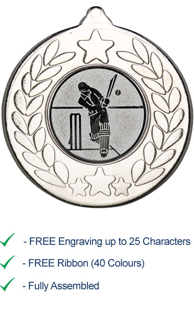 CRICKET MEDAL 1 - M18S - A1.112