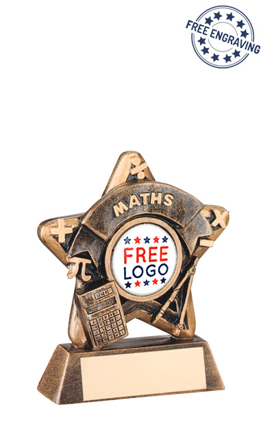 School Maths Mini Star Resin Award- RF406