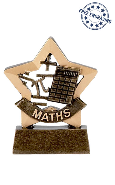 Mini Star - Maths Trophy - A950