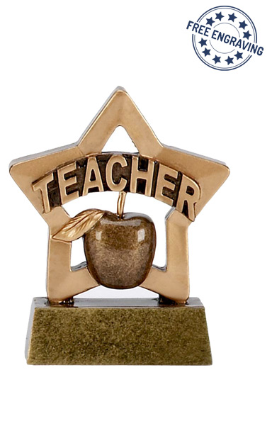 Mini Star - Teacher Trophy - A1110