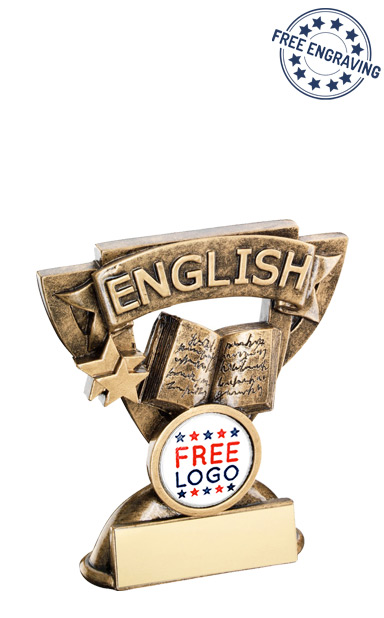 English Mini Cup Resin Award- RF807