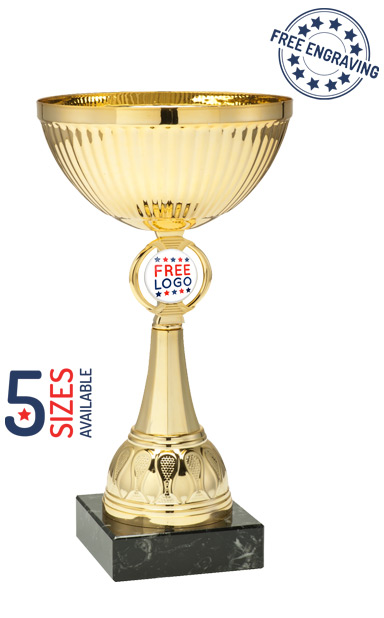 Gold Presentation Cup with Metal Bowl- ET350.61