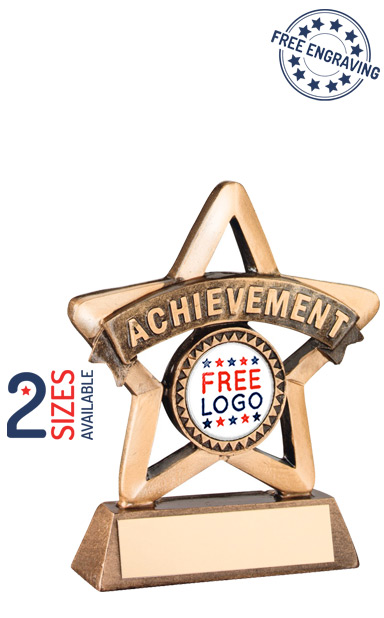 Achievement Mini Star Resin Trophy- RF413