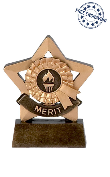 Mini Star - Merit Trophy - A975
