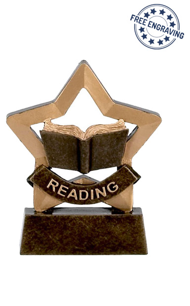 Mini Star - Reading Trophy - A973