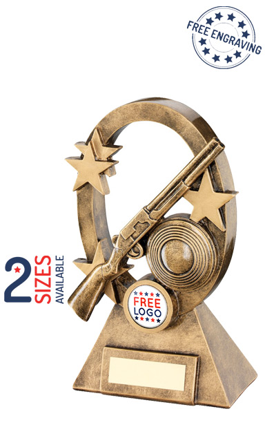 Shooting Oval Stars Series Shooting Star Resin Trophy- RF743