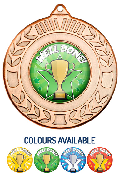 Bronze Well Done Medal- M35B