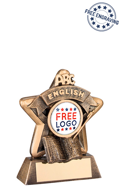 School English Mini Star Resin Award- RF407