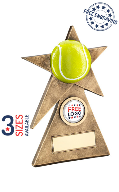 TENNIS STAR - RESIN TROPHY - RF230