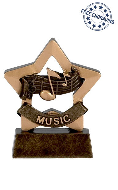 Mini Star - Music Trophy - A953