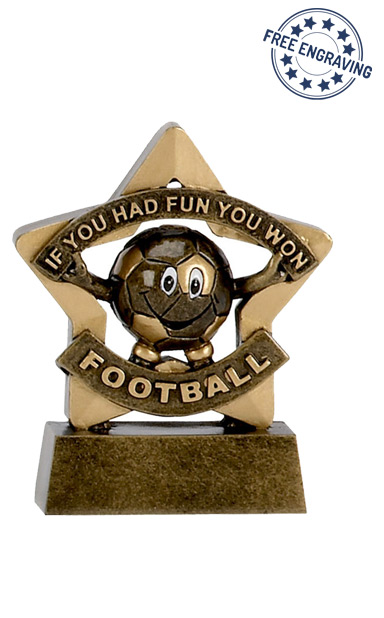 Mini Star - Football Participation Trophy - A1129