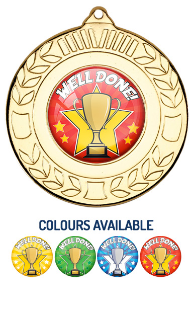 Gold Well Done Medal- M35G