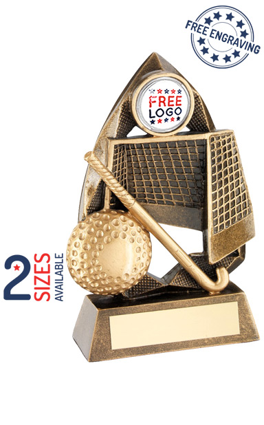 Hockey Diamond Collection Resin Trophy- RF678