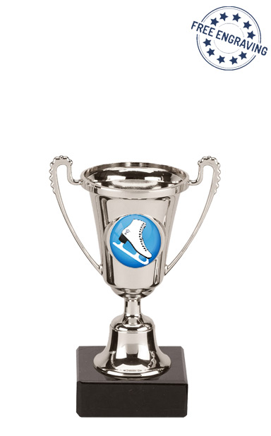 The Mini Silver Ice Skating Cup Award (13cm)- CP200.02- M410