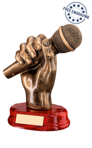 MUSIC AWARD - Microphone in Hand - RF440