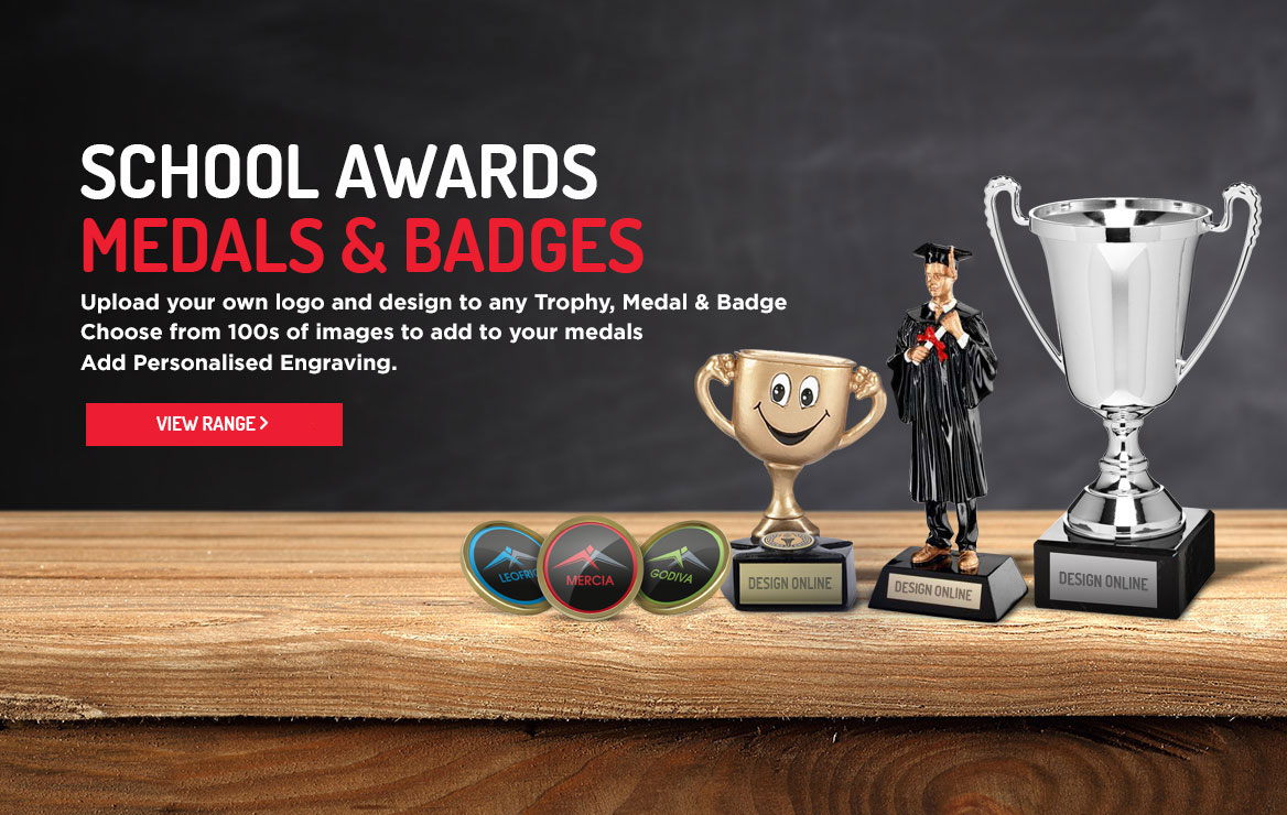 School Medals badges & awards